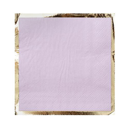 Party Cocktail Napkin - Lilac You Lots Lavender Purple - Ellie and Piper