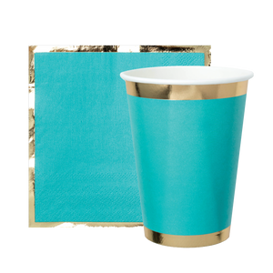 Party Cup - Buoy Bye Aqua Blue - Ellie and Piper