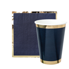 Party Cup - Denim Jorts Navy Blue