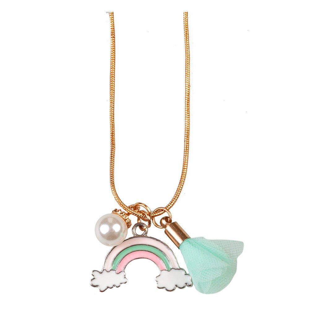 Rainbow Tassel Necklace - Ellie and Piper
