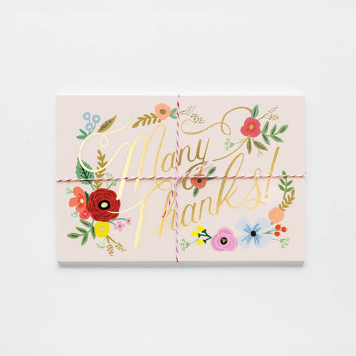 Rifle Paper Co Bouquet Thank You Post Cards