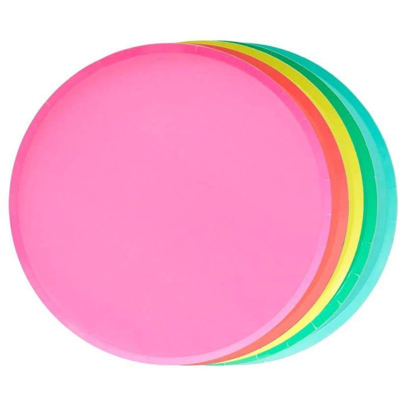 Rainbow Set of Plates (2 sizes) - Ellie and Piper