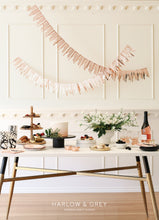 Harlow and Grey Rose Gold Cascade Paper Garlands