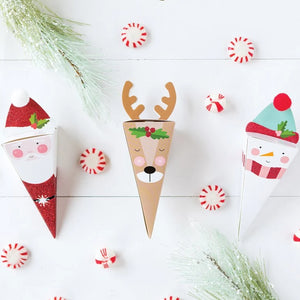 Santa & Friends Favor Boxes Ellie & Piper Party Boutique
