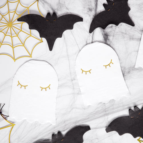 Ghost Shaped Napkins - Ellie and Piper