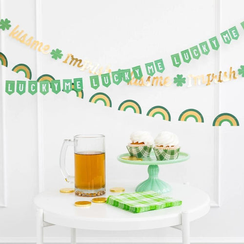 St. Patrick's Day Mini Banner Set - Ellie and Piper