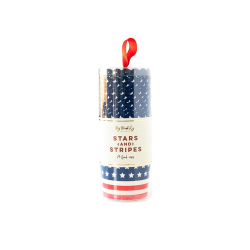 Stars and Stripes Food Cups - Ellie and Piper