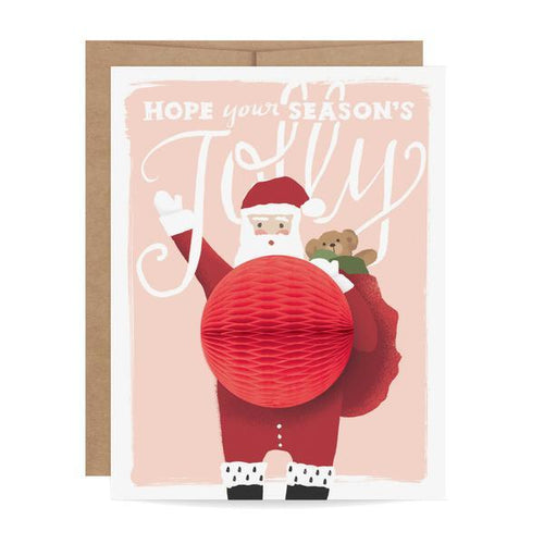 Santa Pop-Up Holiday Card - Ellie and Piper