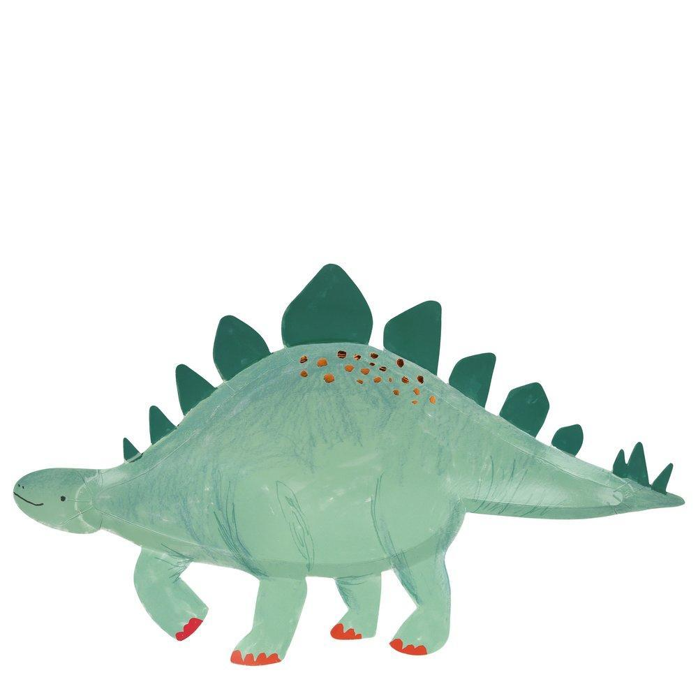 Stegosaurus Platters - Ellie and Piper
