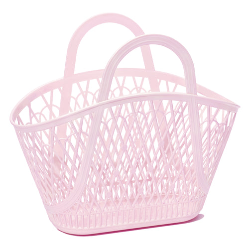 Betty Basket Light Pink - Ellie and Piper