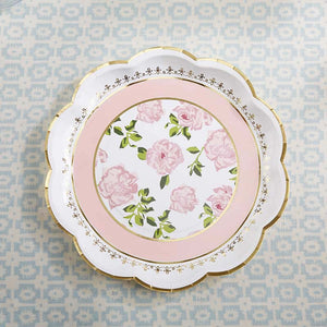 Tea Time Whimsy Dinner Paper Plates - Ellie and Piper