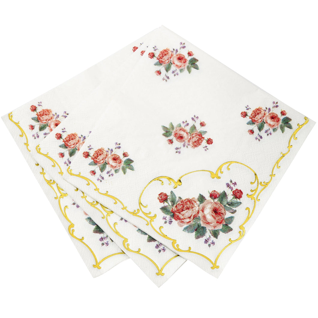 Tea Party Lunch Napkins - Ellie and Piper