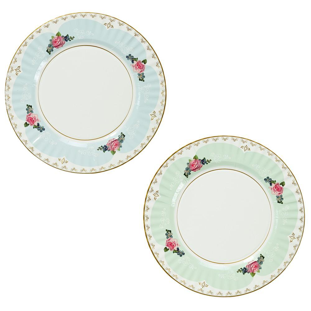 Tea Party Large Paper Plates - Ellie and Piper