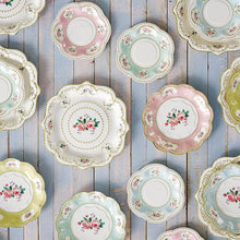 Tea Party Small Paper Plates - Ellie and Piper