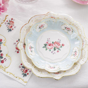 Tea Party Small Paper Plates - Ellie and Piper Party Boutique