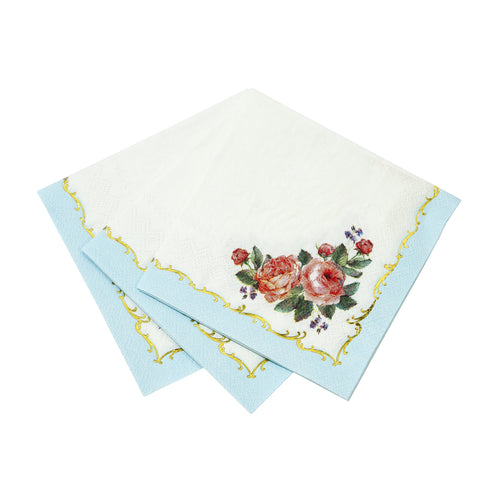 Tea Party Cocktail Napkins - Ellie and Piper