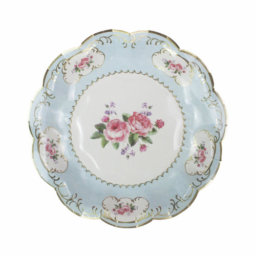 Tea Party Small Paper Plates