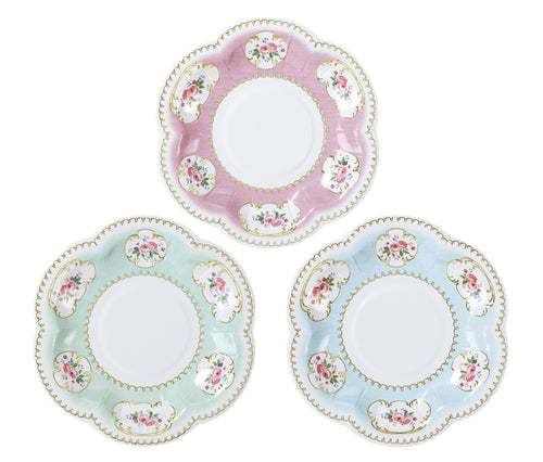 Tea Party Extra Small Paper Plates