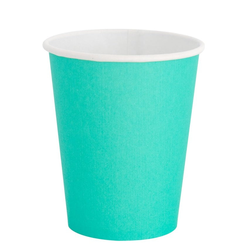 Teal Green Classic Party Cups - Ellie and Piper
