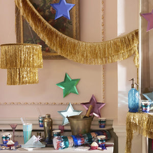 Metallic Fringe Party Cups - Ellie and Piper
