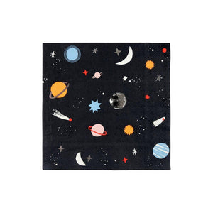 To The Moon Space Napkins (Large) - Ellie and Piper
