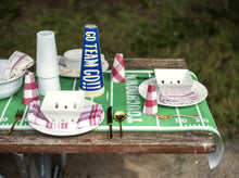 Touchdown Paper Table Runner - Ellie and Piper