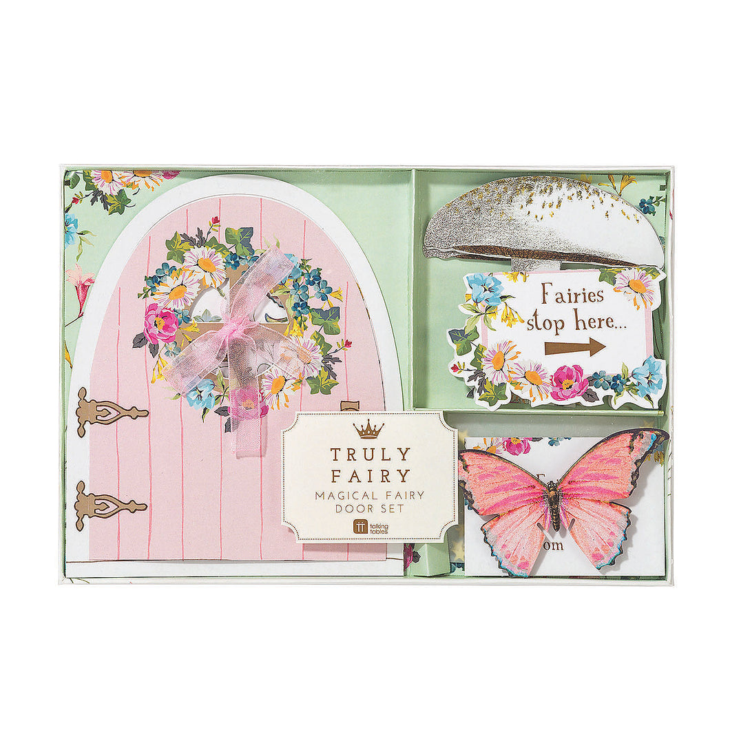 Truly Fairy Door Set - Ellie and Piper