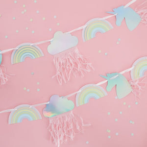 Unicorn and Rainbow Garland - Ellie and Piper