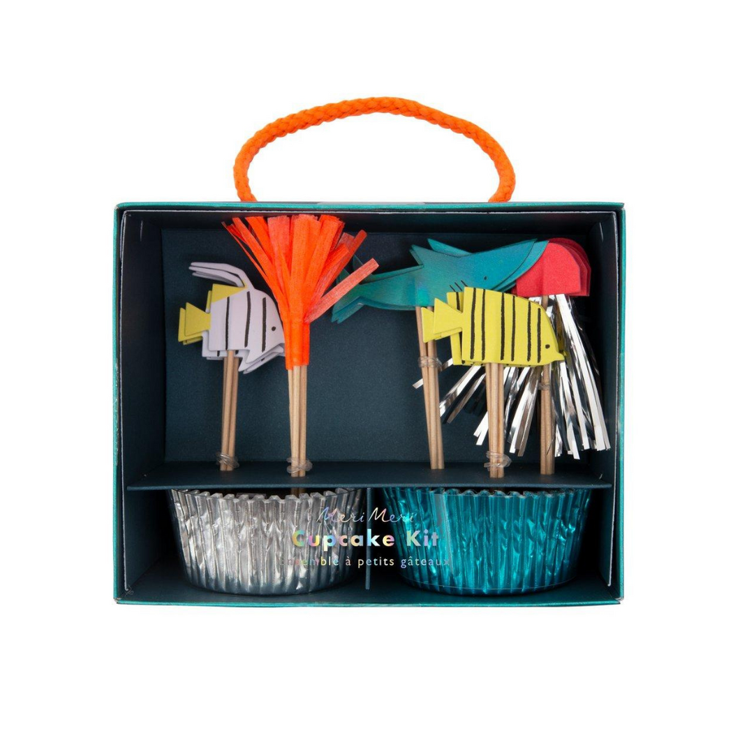 Under The Sea Cupcake Kit - Ellie and Piper