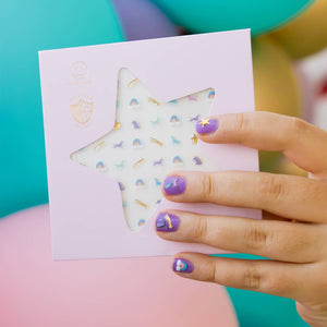 Unicorn + Rainbow Nail Stickers - Ellie and Piper