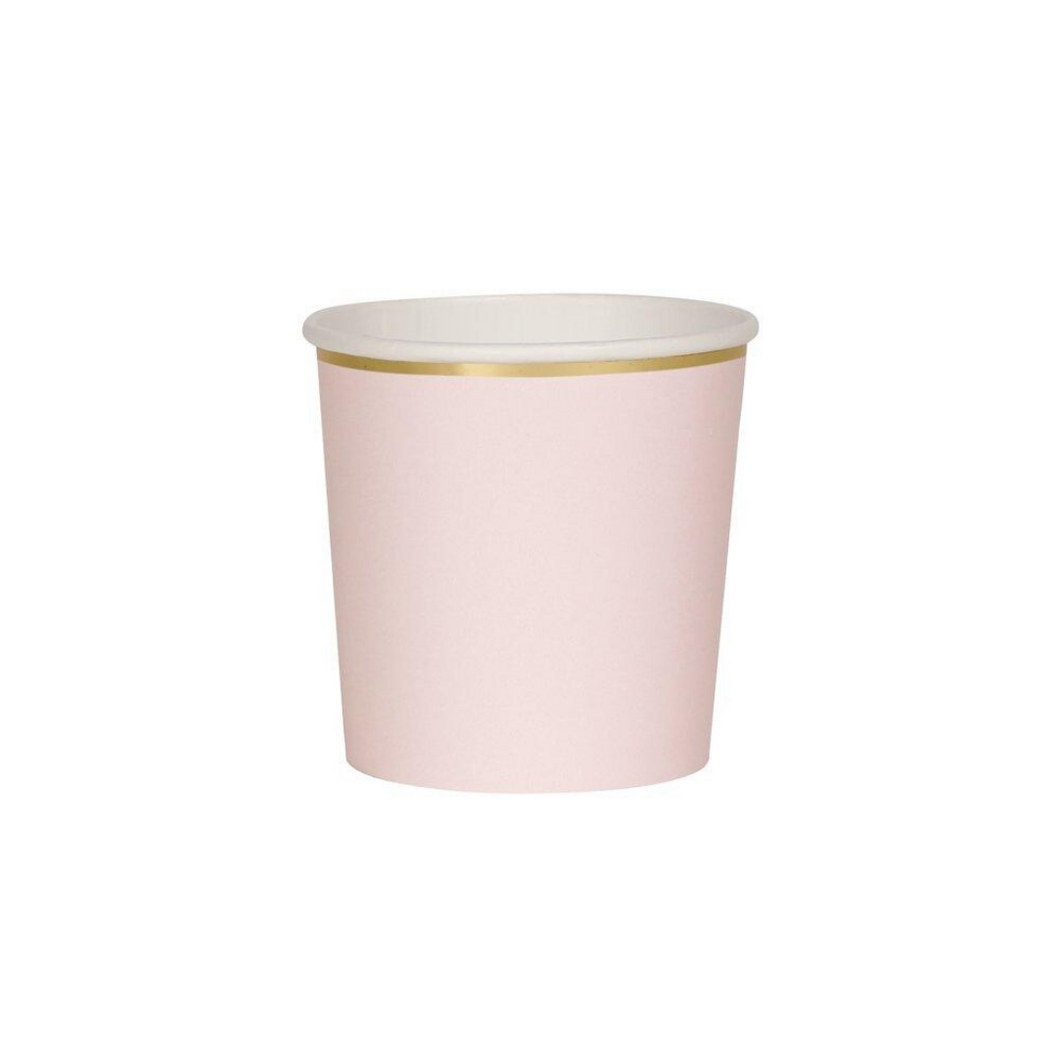 Pastel Pink Tumbler Cups - Ellie and Piper