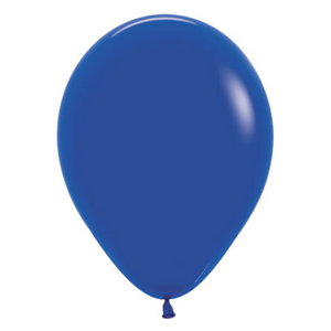 "11"" Royal Blue Latex Balloon - Ellie and Piper"