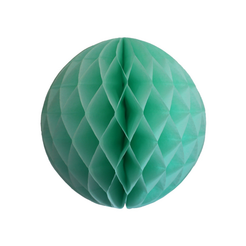 Mint Green Tissue Paper Honeycomb Ball (3 sizes) - Ellie and Piper