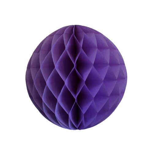 Lavender Purple Tissue Paper Honeycomb Ball (3 sizes) - Ellie and Piper