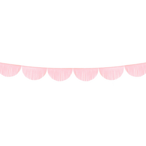 Scalloped Fringe Garland - Light Pink - Ellie and Piper