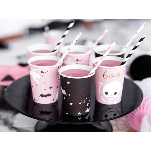 Pink Halloween Cups Boo Mix - Ellie and Piper