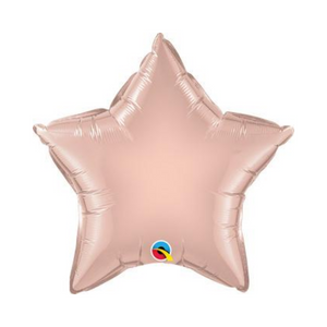 Rose Gold Star Shaped Balloon - Ellie and Piper