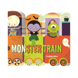 Monster Train Halloween Book - Ellie and Piper