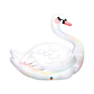 Graceful Swan Shaped Balloon - Ellie and Piper