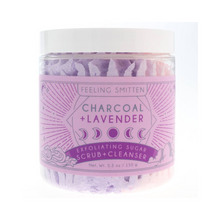 Charcoal Lavender Whipped Sugar Scrub - Ellie and Piper