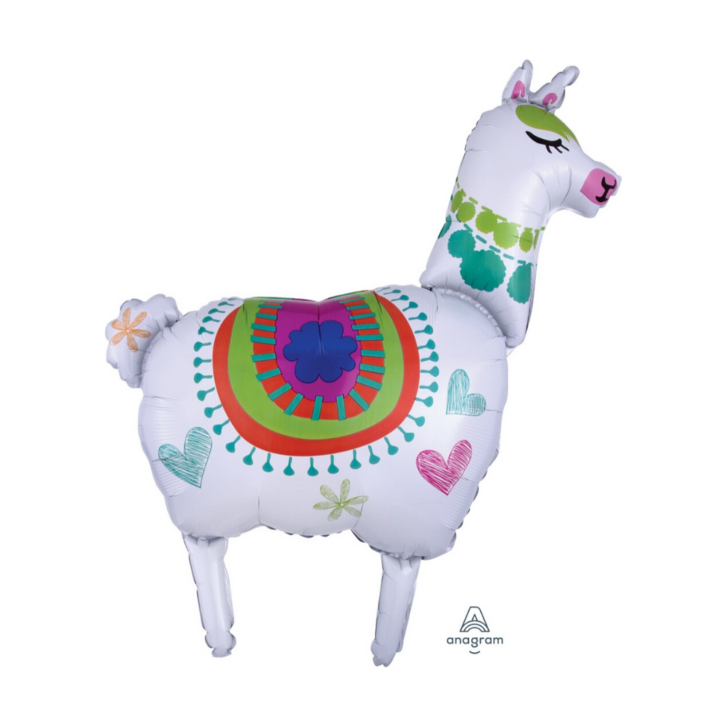 Llama Foil Balloon - Ellie and Piper