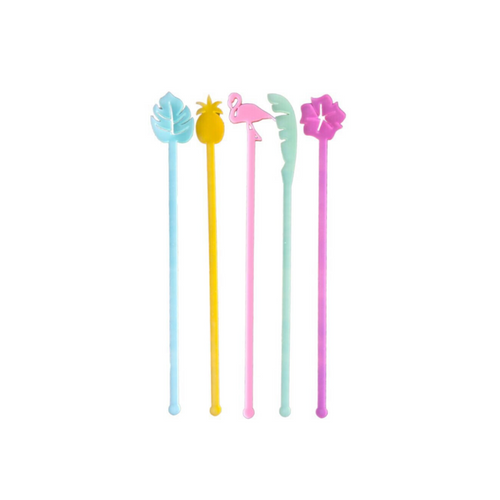 Tropical Cocktail Stirrer Pack - Ellie and Piper