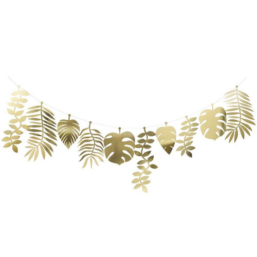 Gold Foliage Large Garland - Ellie and Piper