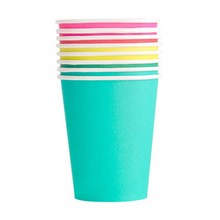 Rainbow Classic Party Cups Set - Ellie and Piper