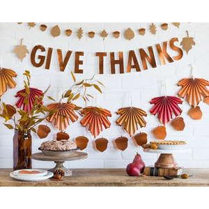 Give Thanks Banner - Ellie and Piper