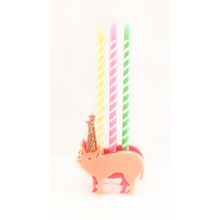 Pig Party Animal Candle Holder - Ellie and Piper