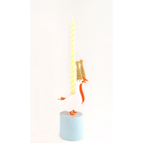 Goose Party Animal Candle Holder - Ellie and Piper