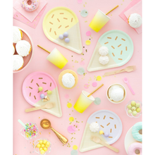Gelato Ice Cream Novelty Paper Plates - Ellie and Piper