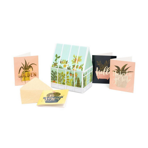 Goldenrod Greenhouse Box & Mini Enclosure Cards - Ellie and Piper