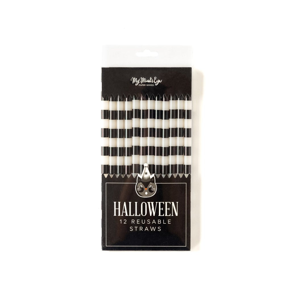 Halloween Reusable Straws - Ellie and Piper